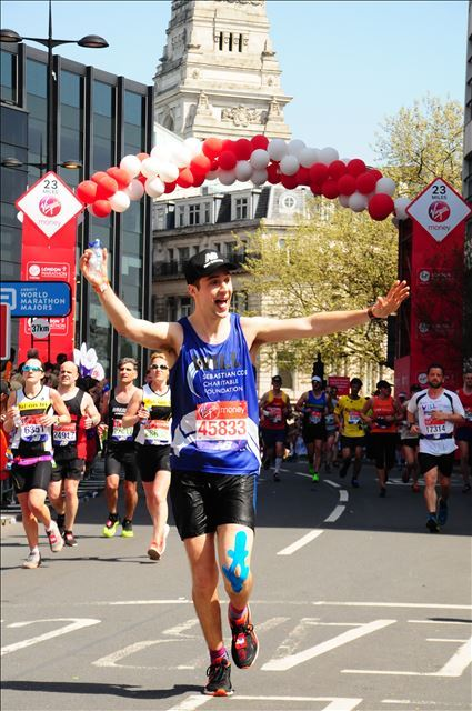Success At The 2018 Virgin Money London Marathon